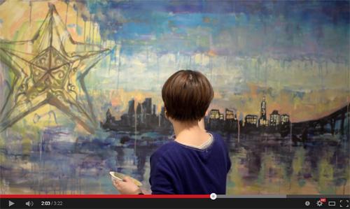 記録映像『Donatera Live-paint at TOWN DESIGN CAFE』