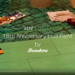 記録映像『atré恵比寿18周年 ライブペイントby Donatera』