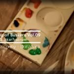 ライブ映像『Buskerたちの夕べ Vol.09』Donateraライブペイント